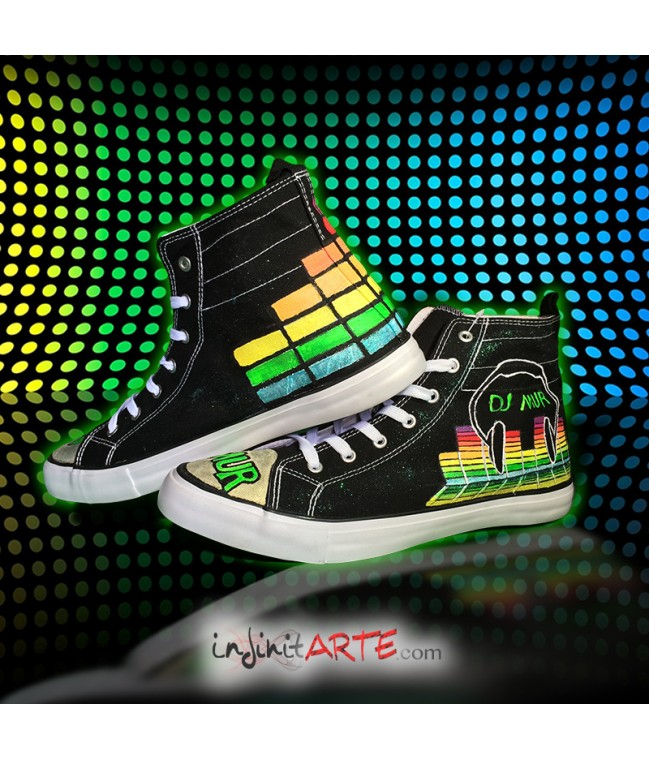 Custom shoes DJ MUR model