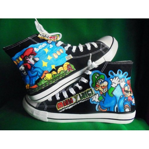 Zapatillas Super Mario